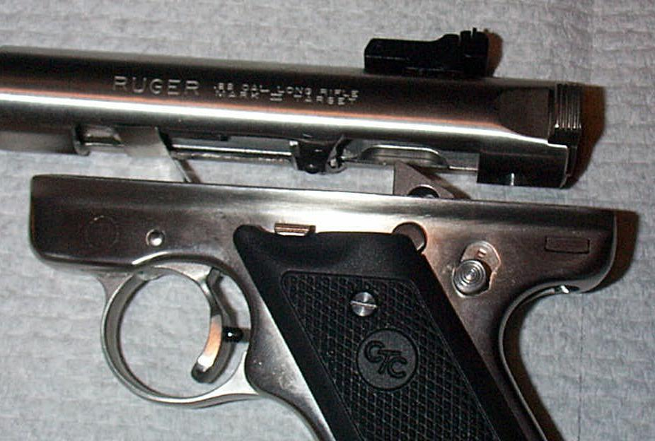 Ruger mark ii frame frame design reviews for Begnal motors used cars